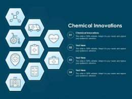 Chemical Innovations Ppt Powerpoint Presentation Ideas Guidelines