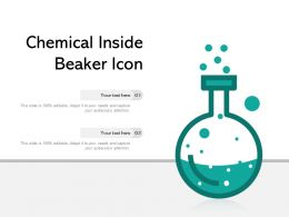 Chemical Inside Beaker Icon