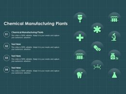 Chemical Manufacturing Plants Ppt Powerpoint Presentation Gallery Outfit