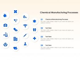 Chemical Manufacturing Processes Ppt Powerpoint Presentation Inspiration Brochure