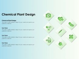 Chemical Plant Design Ppt Powerpoint Presentation File Format