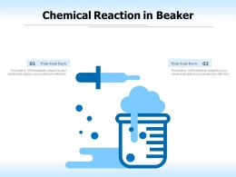 Chemical Reaction In Beaker
