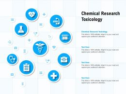 Chemical Research Toxicology Ppt Powerpoint Presentation Inspiration Designs