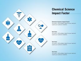 Chemical Science Impact Factor Ppt Powerpoint Presentation Slides Tips