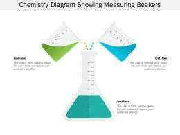 Chemistry Diagram Showing Measuring Beakers