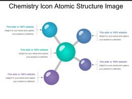 Chemistry Icon Atomic Structure Image