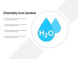 Chemistry Icon Symbol