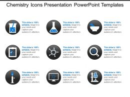 Chemistry Icons Presentation Powerpoint Templates