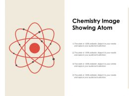 Chemistry Image Showing Atom