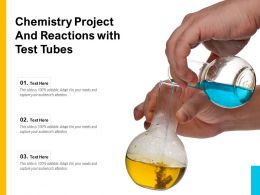 Chemistry Project And Reactions With Test Tubes