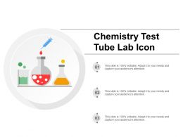 Chemistry Test Tube Lab Icon
