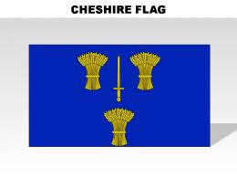 Cheshire Country Powerpoint Flags
