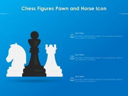 Chess Figures Pawn And Horse Icon