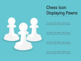 Chess Icon Displaying Pawns