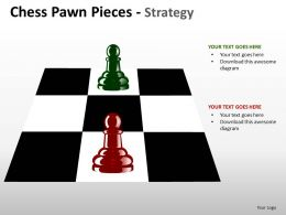 Chess Pawn Pieces Strategy ppt 10