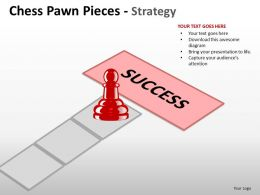 Chess Pawn Pieces Strategy ppt 11