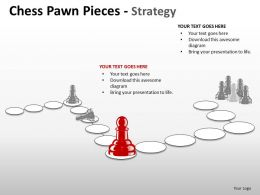 Chess Pawn Pieces Strategy ppt 13