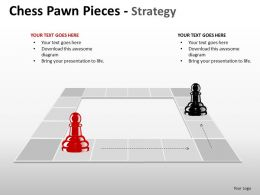 Chess Pawn Pieces Strategy ppt 19