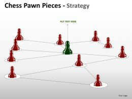 Chess Pawn Pieces Strategy ppt 8