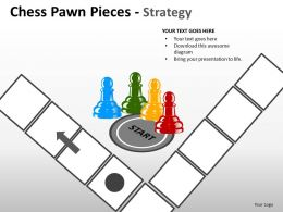 Chess Pawn Pieces Strategy ppt 9