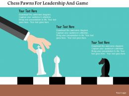 chess_pawns_for_leadership_and_game_flat_powerpoint_design_Slide01