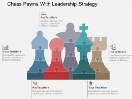 chess_pawns_with_leadership_strategy_flat_powerpoint_design_Slide01