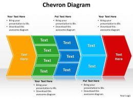 chevron diagram editable powerpoint 1