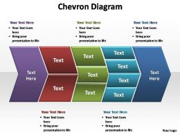 chevron diagram editable powerpoint templates