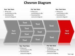 chevron diagram editable powerpoint templates infographics images 1121