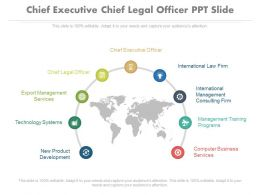 Chief Executive Chief Legal Officer Ppt Slide