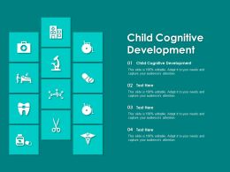 Child Cognitive Development Ppt Powerpoint Presentation Gallery Graphics