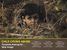 Child Crying Abuse Template Asking For Help Image