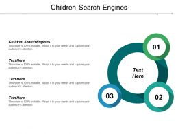 Children Search Engines  Ppt Powerpoint Presentation Gallery Graphics Cpb