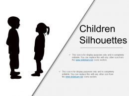 Children Silhouettes Powerpoint Images