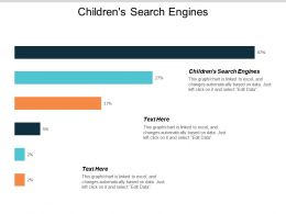 Childrens Search Engines Ppt Powerpoint Presentation File Graphics Template Cpb