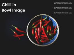 Chilli In Bowl Image
