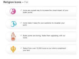 chinese_hindu_bauddh_sikh_religion_symbols_ppt_icons_graphics_Slide01