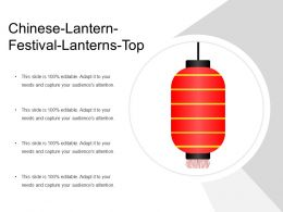 Chinese Lantern Festival Lanterns Top