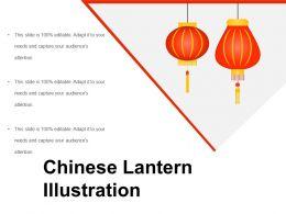 Chinese Lantern Illustration