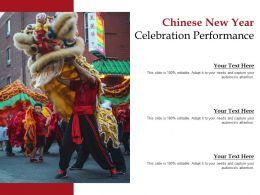 Chinese New Year Celebration Performance
