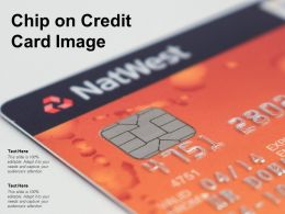 Chip On Credit Card Image