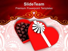 Chocolates Gift Box Love PowerPoint Templates PPT Themes And Graphics 0213