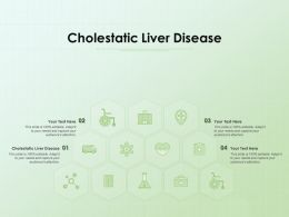 Cholestatic Liver Disease Ppt Powerpoint Presentation Outline Background Designs