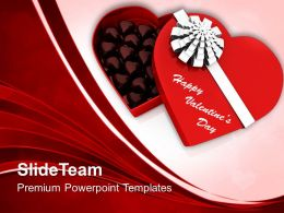 Cholocolates Box Valentines Day PowerPoint Templates PPT Themes And Graphics 0213