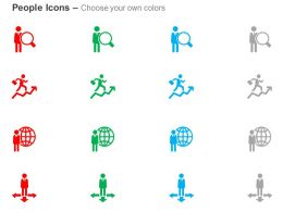 Choose Any Way To Growth Search Global Business Ppt Icons Graphics