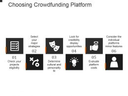 Choosing Crowdfunding Platform Example Of Ppt Presentation
