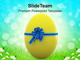 Christ Easter Egg For Someone Special Powerpoint Templates Ppt Backgrounds Slides