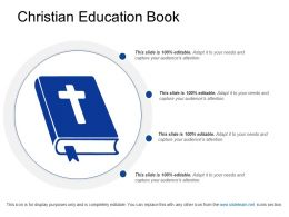 Christian Education Book