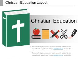 Christian Education Layout