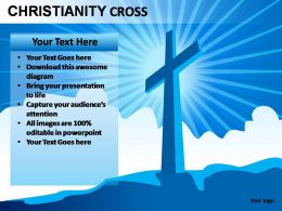 Worship powerpoint themes worship powerpoint templates christianity cross toneelgroepblik Image collections